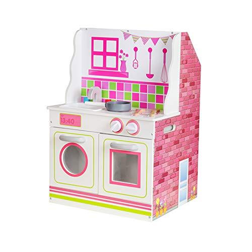 Outdoor Toys Casa de Muñecas y Cocina 2 en 1 Estela MDF 47,5x40x67,5 cm