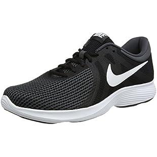 Nike Men's Revolution 4 Competition Running Shoes, Black (Black/White Anthracite 001), 11 UK 46 EU
