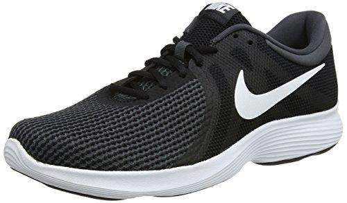 Nike Revolution 4 EU, Zapatillas de Running para Hombre, Negro (Black/White-Anthracite 001), 42.5 EU