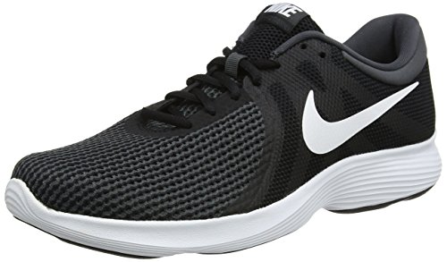 Nike Revolution 4 EU, Zapatillas de Running para Hombre, Negro (Black/White-Anthracite 001), 44.5 EU