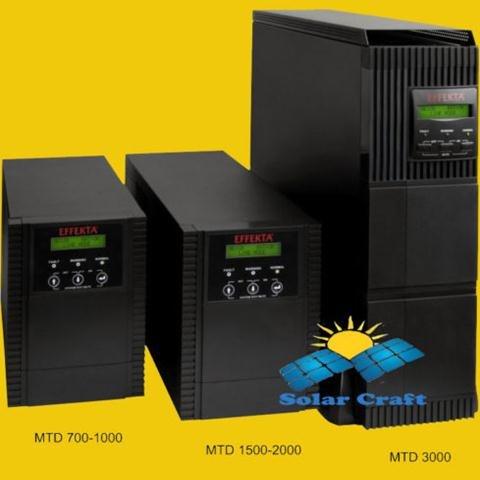 Wechselrichter EFFEKTA Interactive UPS Converter wiederaufladbar Akku 2000VA