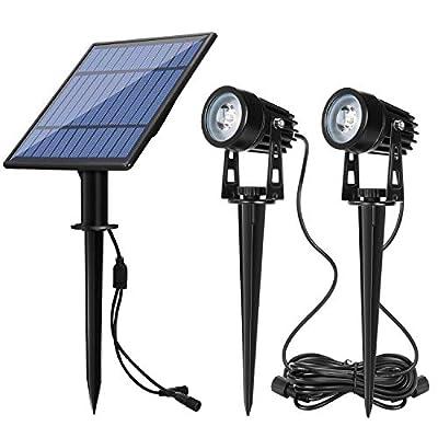 Solar Spotlights, LED Solar Landscape Spotlights for Outdoor