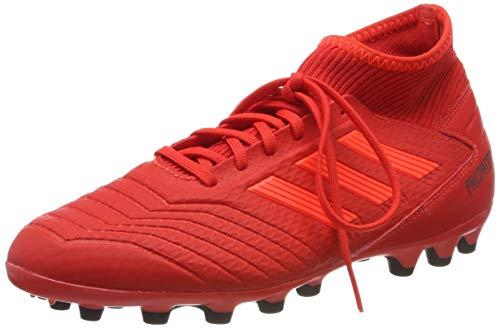 Adidas Predator 19.3 AG, Botas de fútbol para Hombre, Multicolor (Rojact/Rojsol/Negbás 000), 42 EU