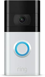 Ring Video Doorbell 3 | HD-video, förbättrad rörelsedetektion och enkel installation | 30 dagars kostnadsfri provperiod på...
