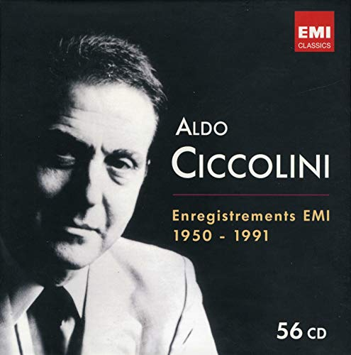 Aldo Ciccolini: The Emi Recording 1950-1991