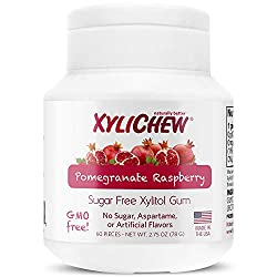 Xylichew gum without aspartame pomegranite flavored