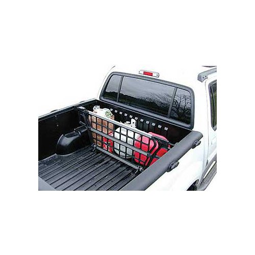 Cargo Bed Gate For - Toyota - Tacoma - 2005-2017 - Adjustable Width 54-3/4 to 58-3/4, Height 17