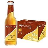 Organics by Red Bull, Ginger Ale - 24 botellas de 250ml - Total 6.000ml