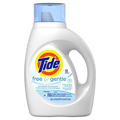 Tide Free amp Gentle Liquid Laundry Detergent 32 Loads 46 Fl Oz