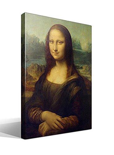 Cuadro Canvas Gioconda o Mona Lisa de Leonardo Da Vinci - 55cm x 75cm