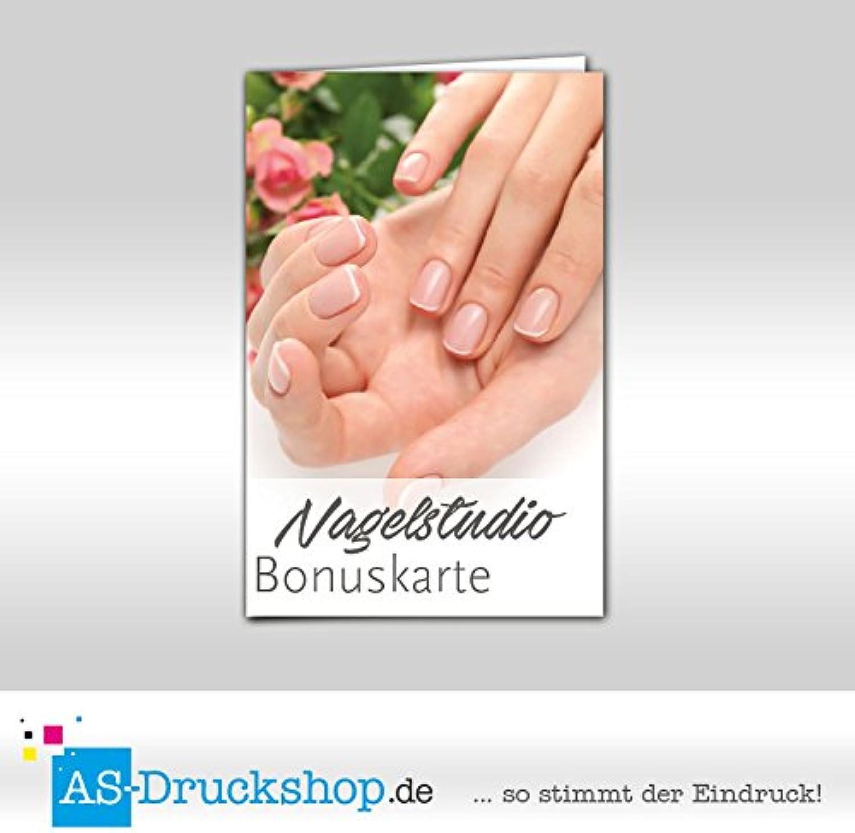 Bonuskarte Nagelstudio   Maniküre    Schöne Hände  mit 10 Stempelfeldern   250 Stück B01M5BI77S     Sale Online  bd93da