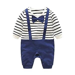 Recién Nacido Pelele Bebé Niño Pijama de Algodón Mameluco Tuta Trajes 3-6 Meses