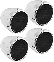 BOSS Audio Systems MC475BA Motorcycle Speaker Sound System - Bluetooth, Amplified, Weatherproof, 3 Inch Speakers, Volume Control, Also Use With ATVs and UTVs