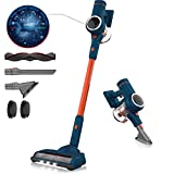 ORFELD Cordless Vacuum, 20000pa Stick Vacuum 5 in 1, 3 Gear Adjustment, 6 Level Filtering, Up to 40 Minutes Runtime with Dual Japanese Motor for Deep Clean Whole House