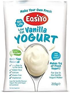 Easiyo 甘いバニラヨーグルトミックス230グラム - Easiyo Sweet Vanilla Yoghurt Mix 230g (PACK OF 2) [並行輸入品]