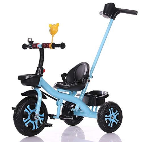 WENJIE Triciclo Portátil Niño Ajustable Putter Manual De 3