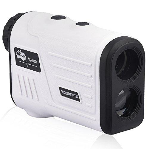 WOSPORTS Golf Rangefinder, Laser Range Finder with Slope, Golf Trajectory Mode, Flag-Lock and Distance/Speed/Angle Measurement - Golf Scope