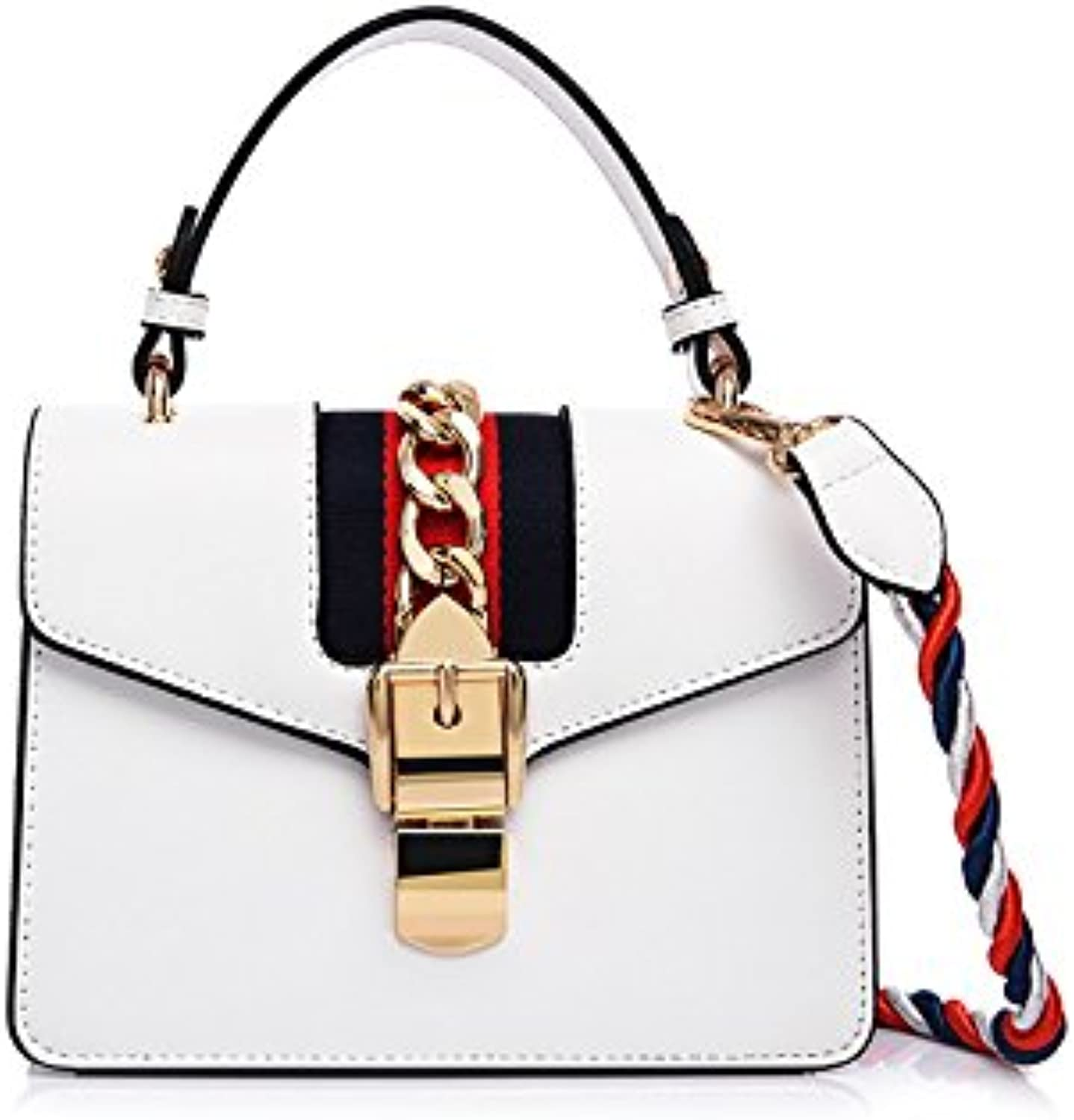 AI BAO Women's Classic Cross Body Bag Hand Bag Fashion Party Bag