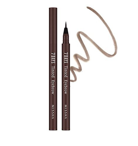 MISSHA 7Days Tinted Eyebrow -#Maroon Brown tatoo eyebrow