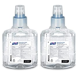 PURELL LTX-12 Advanced Green Certified Hand Sanitizer Foam, Fragrance Free, 1200 mL EcoLogo Certified Sanitizer Refill for PURELL LTX-12 Touch-Free Dispenser (Pack of 2) - 1904-02 3 <p>No. 1 hand sanitizer most used by hospitals and proven to kill 99.99 percent of most common germs that may cause illness without damaging skin – even after repeated uses Formulated to be gentle on skin, with four conditioners. free of harsh preservatives and do not contain dyes, triclosan, parabens or phthalates to irritate skin EcoLogo Certified and USDA Biobased Certified to help meet your sustainability goals Works with LTX Touch-Free Dispensers to help prevent the transmission of germs. With millions of units installed, across billions of uses, LTX dispensers are proven durable and guaranteed reliable Case Pack Includes: 2 - 1200 mL PURELL 1200 mL Advanced Green Certified Instant Hand Sanitizer Foam refill. Each holds up to 1300 uses. Compatible with LTX-12 Dispensers. (Sold separately.)</p>