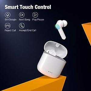 Wireless Earbuds, Bluetooth 5.0 Earbuds Hi-Fi Stereo Headphones 30H Playtime True Wireless Earbuds IPX6 Waterproof…