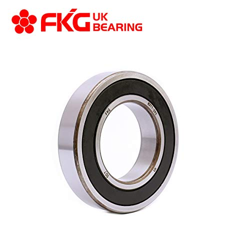 FKG 6211-2RS 55x100x21mm Deep Groove Ball Bearing Double Rubber Seal Bearings Pre-Lubricated