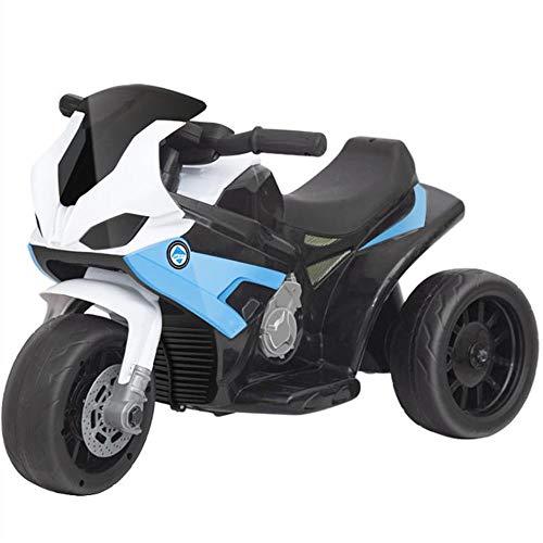 HQXH La Motocicleta Eléctrica para Niños De 3 A 6 Años Puede Viajar En Un Triciclo Eléctrico con Batería para Bebés para Hombres Y Mujeres