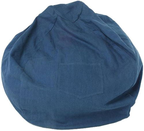 Fun Furnishings Large Beanbag, Denim