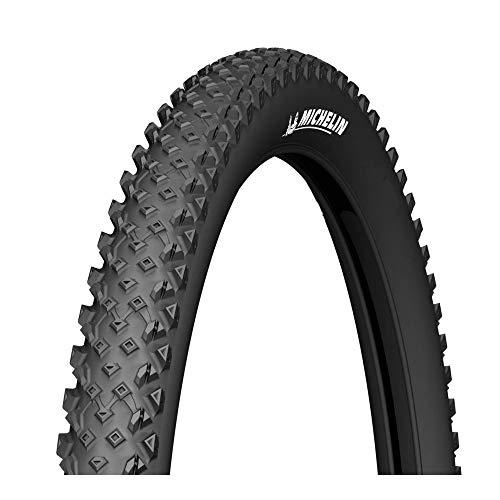 Michelin 537359 Cubierta, Fahrradreifen Country Race R, Schwarz, (26x2.1), FA3464022, Negro