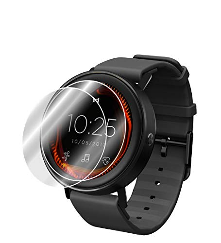 IPG For MISFIT VAPOR SMARTWATCH Screen Protector (2X) Screen Protector with Lifetime Replacement Warranty Invisible Protective Screen Guard - Smooth/Self-healing/Bubble -Free