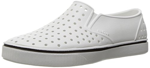 Native Shoes - Miles Youth, Shell White/Shell White, C13 M US