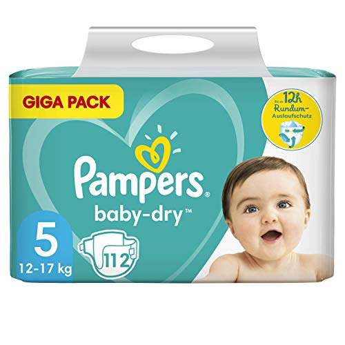Pampers 81715576 - Baby-dry pañales, unisex
