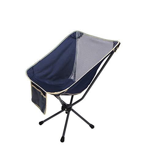 DISS Sillas Para Exterior, Silla de camping portátil, sillas de mochileros plegables ultraligidos compactos, silla de mochila ligera plegable plegable pequeña en una bolsa para al aire libre, campamen
