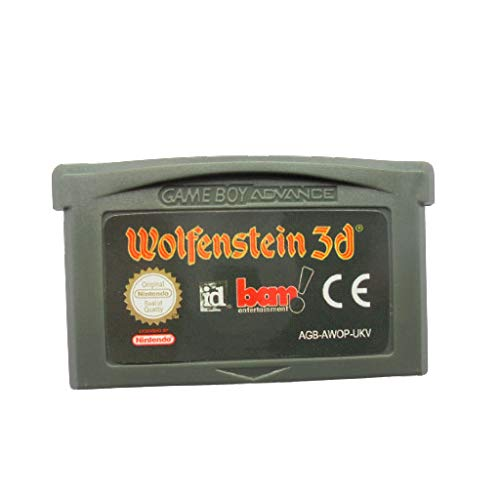 Jhana Wolfenstein 3D 32 Bit Game for Nintendo GBA Console UKV Version (Reproduction)