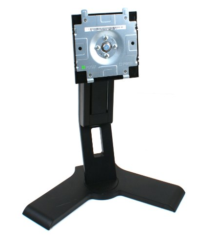 Genuine Dell P190s Black LCD Computer Monitor Screen Stand Base Platform Pedestal, For Select Dell 17-19' Flat Panel LCD Monitors/Screens, This Stand Is a Suitable Replacement For All of The Following Models: 1708FP, P170s, 1707FP, 1907FP, 1908FP, E156FP, E157FP, E176FP, E177FP, 1704FP, E196FP, E197FP, 1904FP, 1905FP, E207WFP, 2007WFP, E198WFP, SE198WFP, S198WFP, S199WFP, SE178WFP, E198FP, P170s, and Most Any Dell 17-19inch LCD Monitor/Screen, Tilt Forward/Backward Adjustment, Swivel Is Up To 45 Degrees Left or Right, Rotation is Up To 90 Degrees Clockwise, Hight Adjustment Up To 5'-Inches