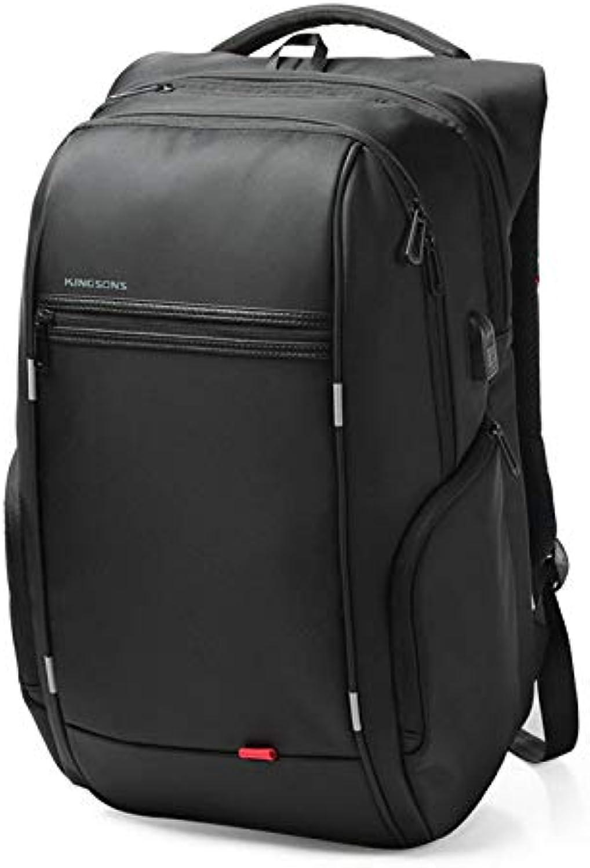 Huide Business Travel Wasserdichter Diebstahlsicherer Rucksack, Laptop-Rucksack mit USB-Ladeanschluss für Mnner, Frauen