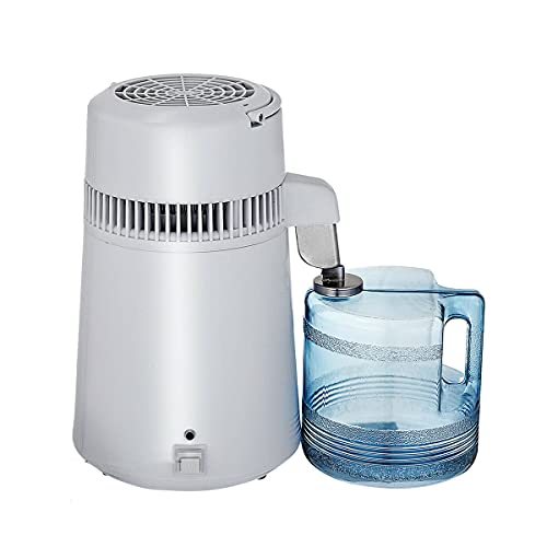 Water Distiller Machine - 4L 304 Stainless Steel Distillers Desktop Distilled Water Machine Water Distiller Purifier To Make Clean Water for Home Office