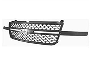 OE Replacement Chevrolet Silverado Pickup Grille Assembly (Partslink Number GM1200586)