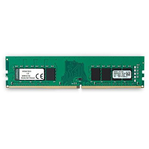 Kingston ValueRAM 16GB 2400MHz DDR4 Non-ECC CL17 DIMM 2Rx8 Desktop Memory (KVR24N17D8/16)