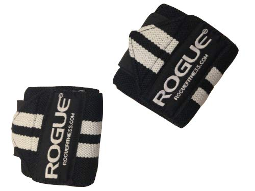 Rogue Fitness Wrist Wraps, Short 12', Black, Power/Weight Lifting