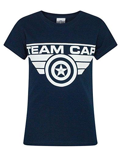 Marvel Camiseta del Equipo de la Guerra...