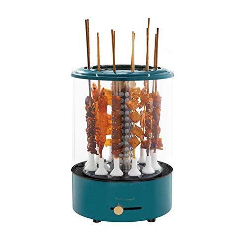 CMM Vertikal Elektro-Grill, Smokeless 360 ° Automatische Rotierende elektrische Energie Carbon-Feuer demontierbar Wie zum Familientreffen im Freien Garten-Camping