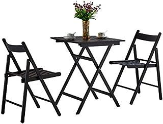 Amazon.es: mesas sillas plegables de balcon