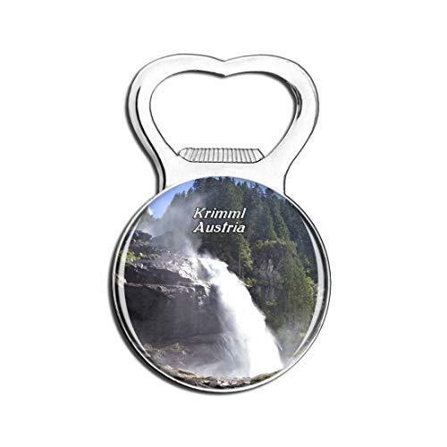 Weekino Krimml Wasserfälle Österreich Bier Flaschenöffner Kühlschrank Magnet Metall Souvenir Reise Gift
