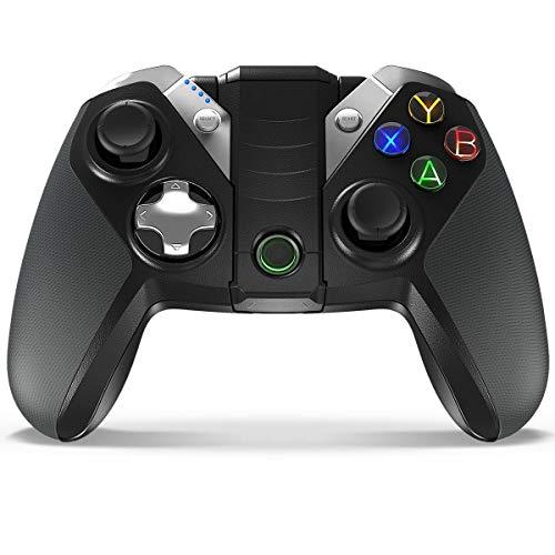 QCHEA Controlador de Juegos inalámbrico Bluetooth Joystick for Android/Windows/Table / PS3 / TV