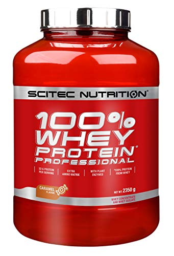 Scitec Nutrition Whey Protein Professional Proteína Caramelo - 2350 g