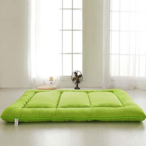 Hongyan Faltende Matte, Tragbare Schlafmatte, traditionelle japanische Futon Waschbare Matte (Farbe : H, größe : 90x200cm)
