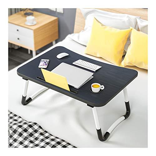 DZWLYX Notebooktisch,Pflegetisch,für Lesen Oder Frühstücks Und Zeichentisch Laptops Faltbare Sofa Tisch (Color : Black)
