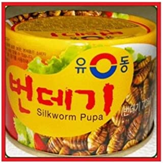 Yu Dong Korean Food Silkworm Pupa Canned Food (130g)
