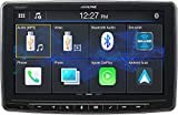 Alpine iLX-F259, Halo9 9' Single Din Mech-Less Digital Media Receiver, Apple CarPlay/Android Auto